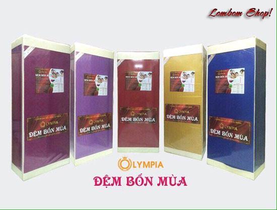 nhà phân phối nệm đệm Olypia bốn mùa chính hãng