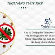Dòng đệm cao su thiên nhiên dunlopillo cao cấp tại Hà Nội
