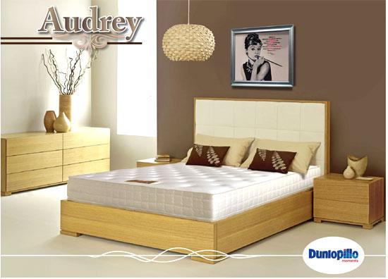 đệm nệm lò xo Audrey thương hiệu Dunlopillo