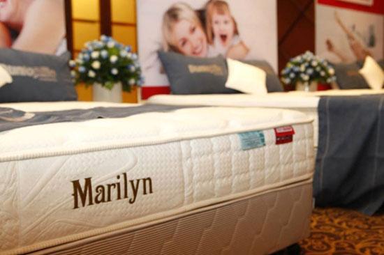 Đệm lò xo Marilyn thương hiệu Dunlopillo