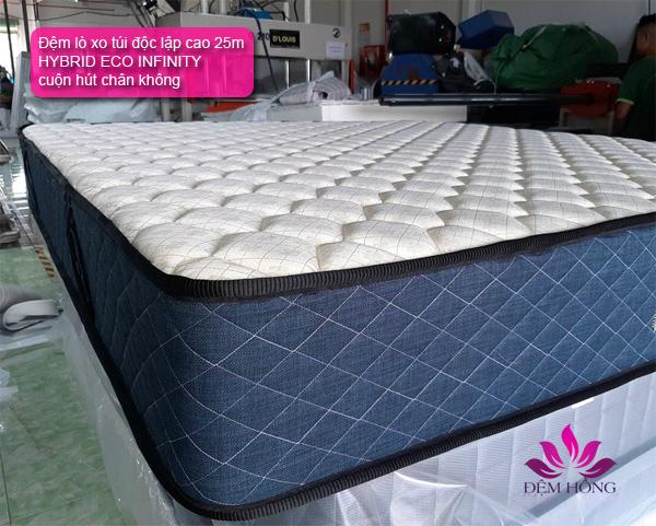 Đệm lò xo túi cuộn Hybrid Eco Infinity do Kohan sản xuất