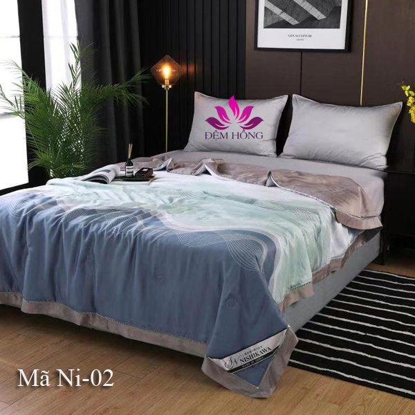 Mẫu chăn hè Nishikawa vải tencel mã Ni-02